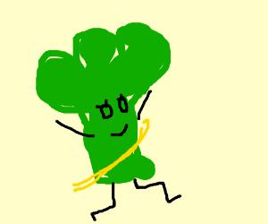 Broccoli girl wins Boston Maraton