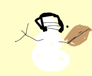 snowman football player