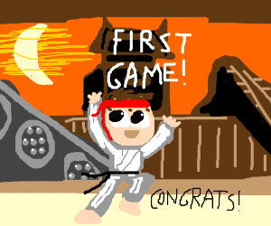 congrats on your first game, ryu