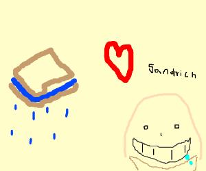 I love a moist sandwich