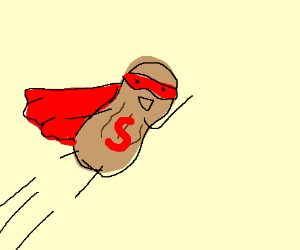 SuperPeanut saves the day!