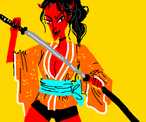 Samurai she-devil