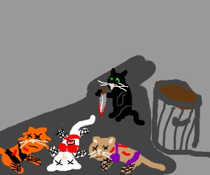 killer kitty brutally slays 3 prostitutes