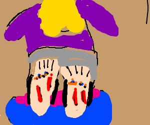 ouch, my feet