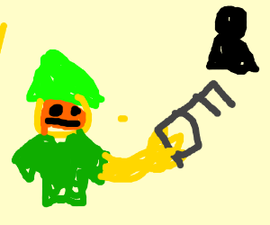 elf got a key to the thing