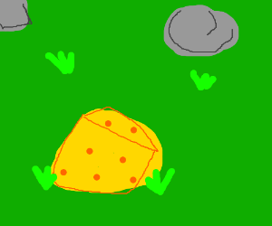 Cheese rock?