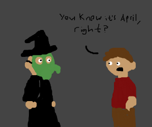Halloween in April