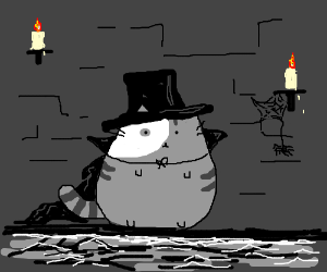 Phantom of the Opera, but with cats