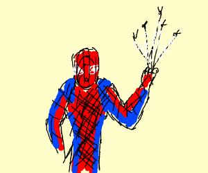 Spiderman loves flies