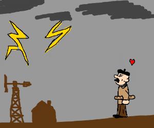 Frenchman loves Lightningbolt