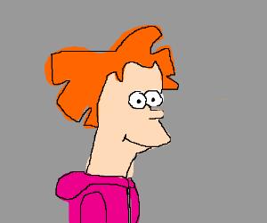 Fry imitates Amy