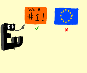 Europe decides to change its logo.