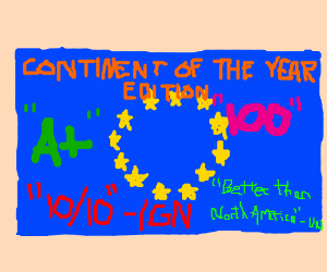 EU votes for a new, much more narcisstic, flag