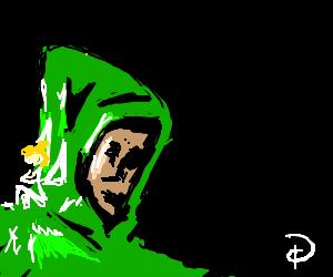 Peter Pan wears a hoodie