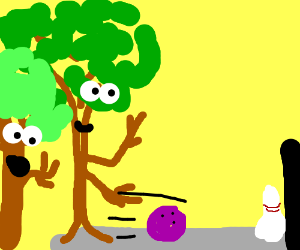 Happy tree friends play bowling