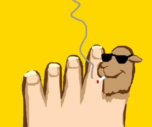 My big toe turned into Joe Camel. Help, Doc!