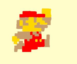 Mario Jumping Sprite