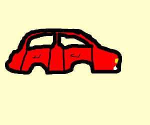 Car with no wheels