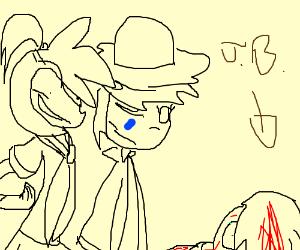 Sailor Senshi and Straw Hat Pirates kill JB