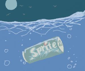 sprite in the sea