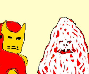 Pizza the Hut and Iron Man