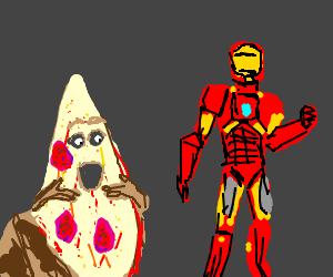 Iron Man meets Pizza the Hut.