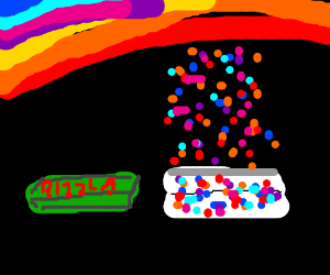 Skittles' new slogan: smoke the rainbow