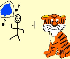 i'm blue dabadedabbadi and a tiger