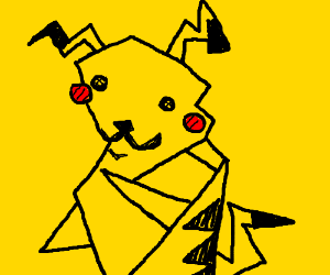 Picasso Pikachu is looking sexy today.