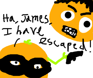 James Bond Movies but with Oranges.