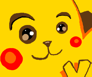 abstract pikachu