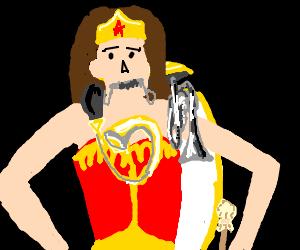 Wonder Woman's Wondrous One Woman Band!