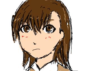 The very unhappy schoolgirl