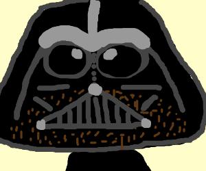 Darth Vader, you need to shave man