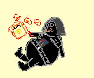 Vader really let himself go