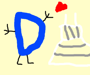 Drawception D loves you far too much