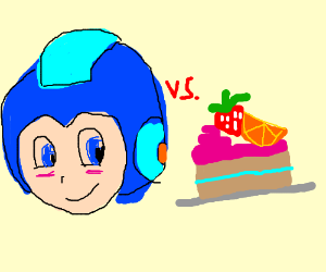 Megaman vs fruitcake