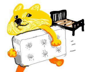 mattress thief much illegal very wow