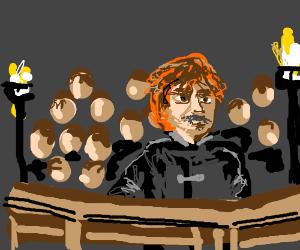 Tyrion Lannister's courtroom scene