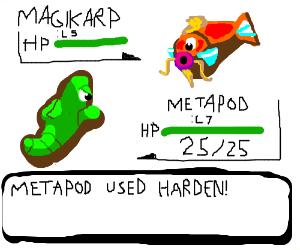 MAGIKARP VS METAPOD~★ - YouTube
