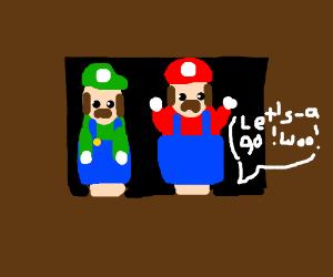 Puppet show theatre does Super Mario Bros.