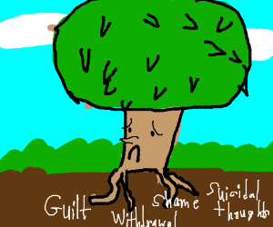 A tree with deep-rooted problems