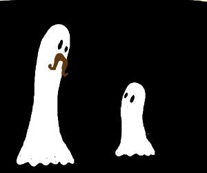 Boo father greets son