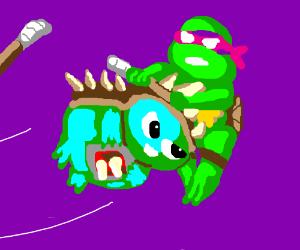 Rammus VS Ninja turtle