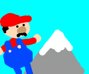 Mario is now bigger than everest