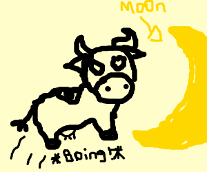Brief Sentence (e.g., A cow jumping over the m