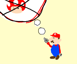 MEn dont take drugs says Mario