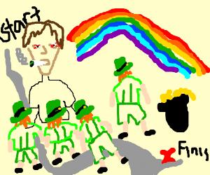 Stoner seeks a path through leprechauns
