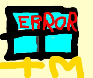 Windows(tm) error