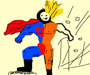 superman vs super saiyan
